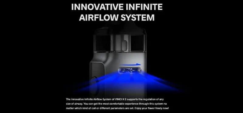 vinci 2 airflow