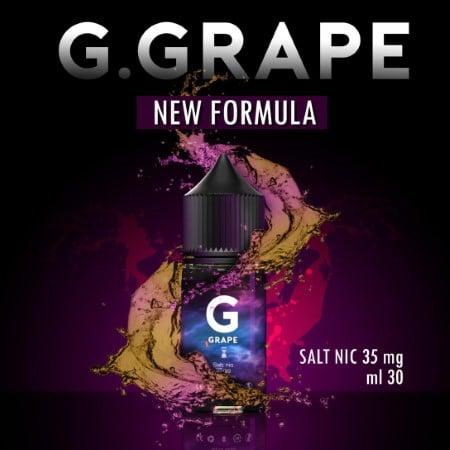 G Grape Salt Nic 30ml Nic35