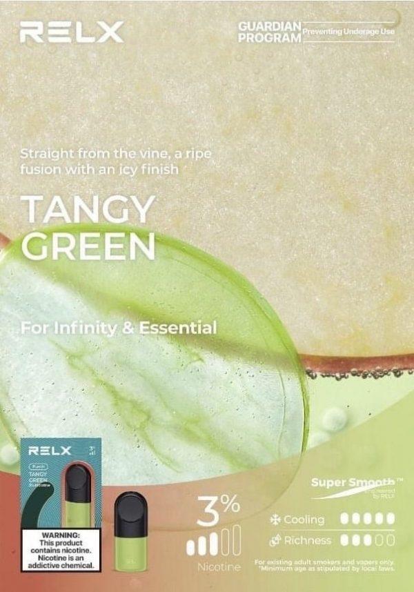 TANGY GREEN กลิ่นองุ่นแอปเปิ้ล